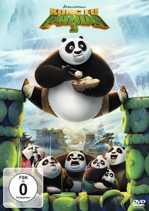 Kung Fu Panda 3, DVD als DVD