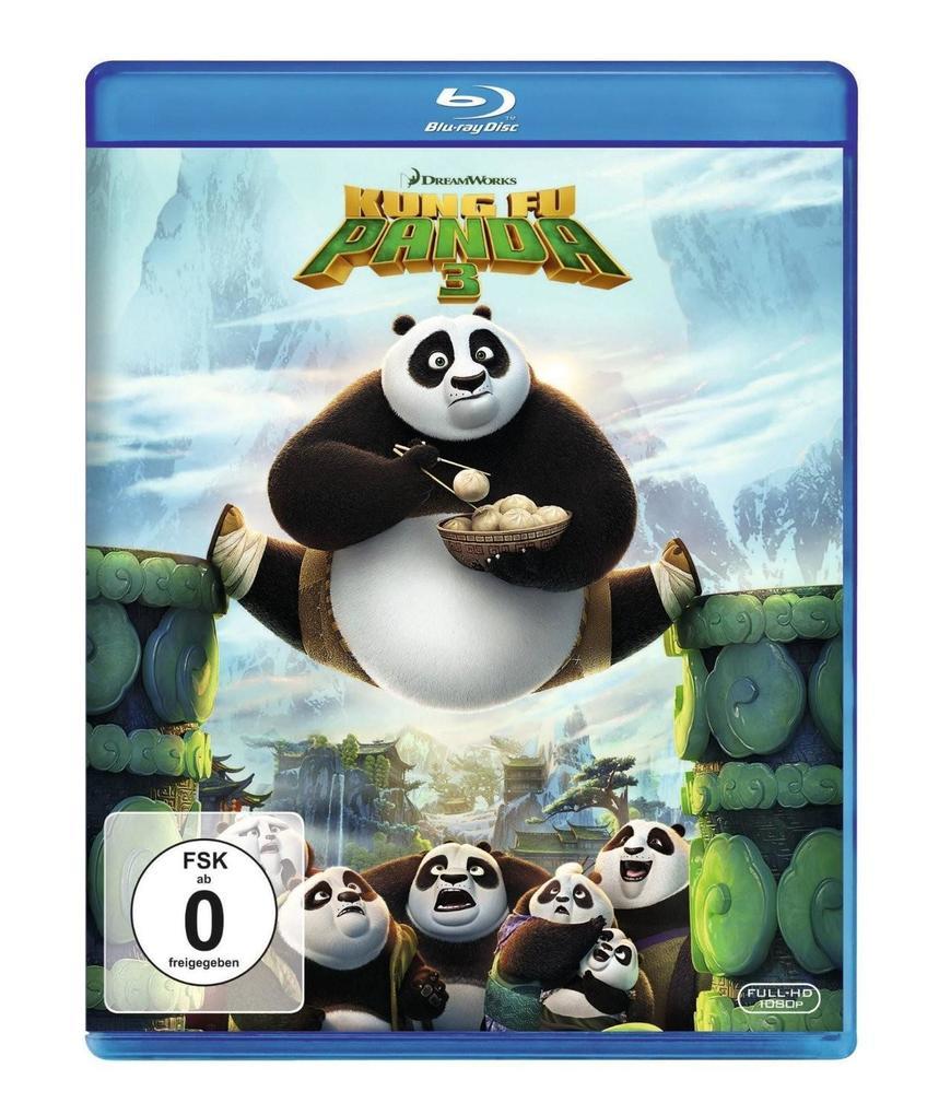 Kung Fu Panda 3 als DVD