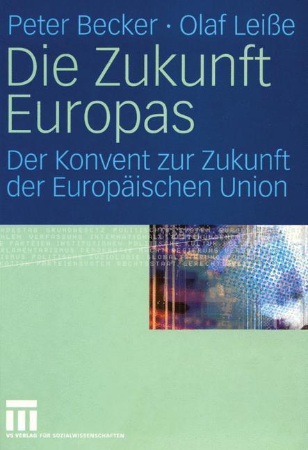 Die Zukunft Europas als Buch