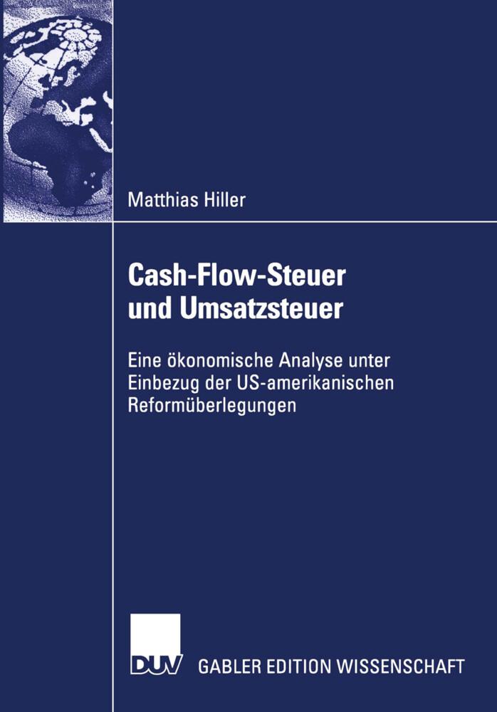 Cash-Flow-Steuer und Umsatzsteuer als Buch