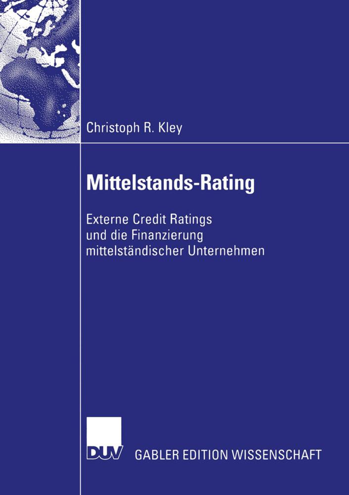 Mittelstands-Rating als Buch