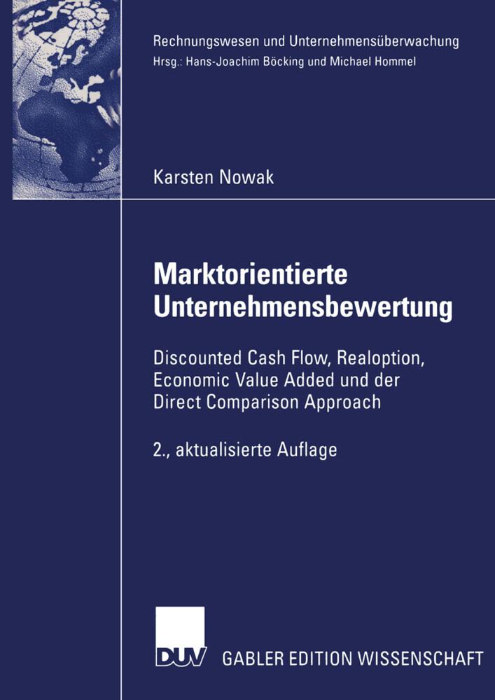 Marktorientierte Unternehmensbewertung als Buch (kartoniert)