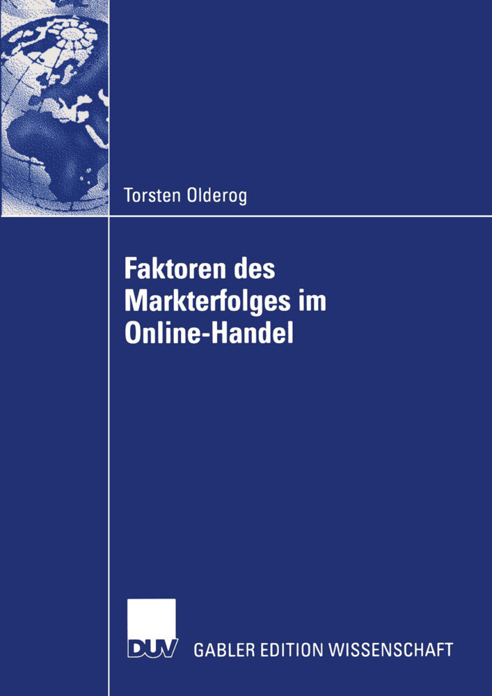 Faktoren des Markterfolges im Online-Handel als Buch