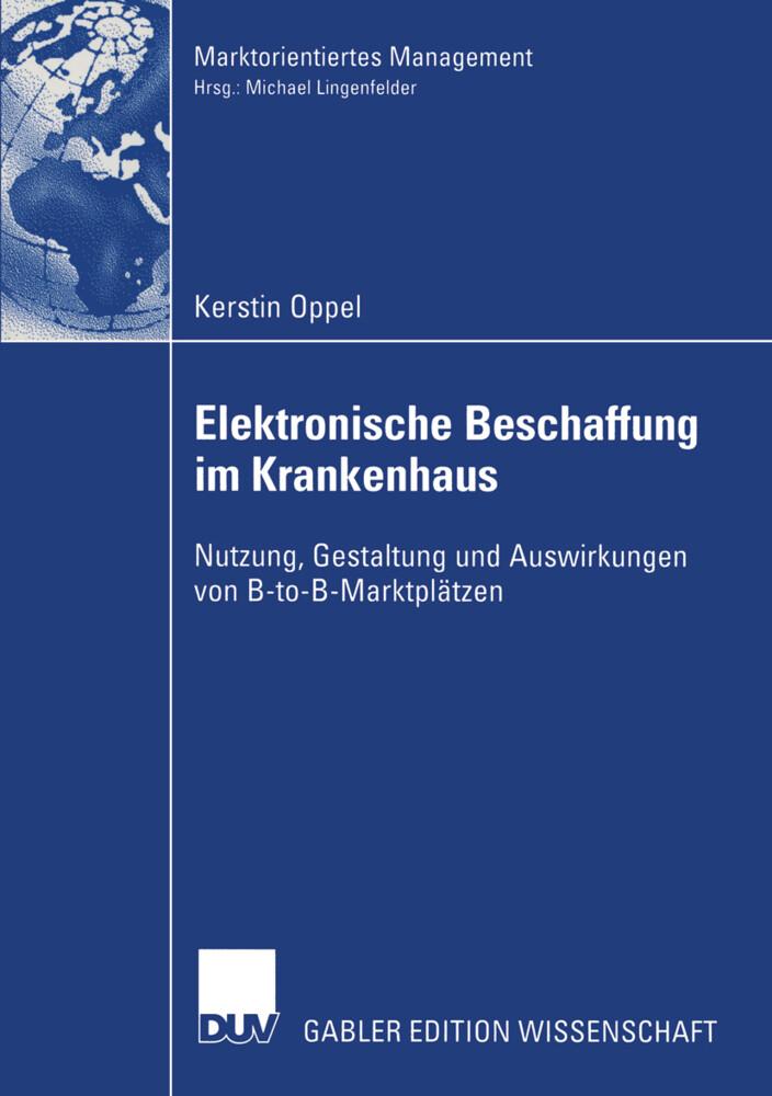 Elektronische Beschaffung im Krankenhaus als Buch