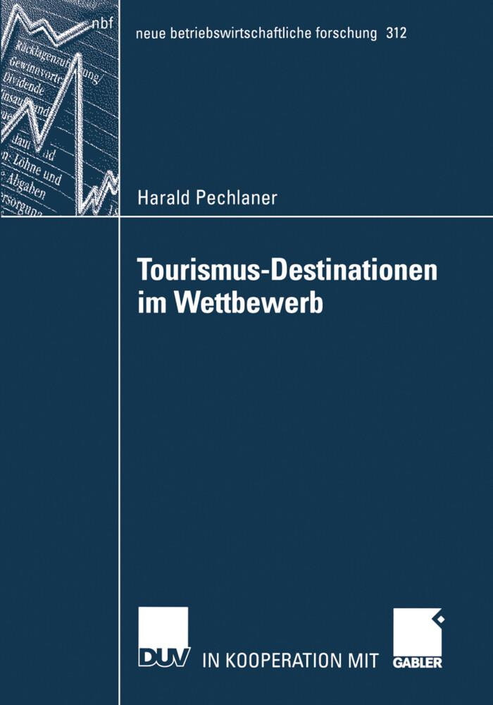 Tourismus-Destinationen im Wettbewerb als Buch