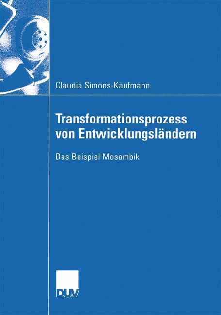 Transformationsprozess von Entwicklungsländern als Buch