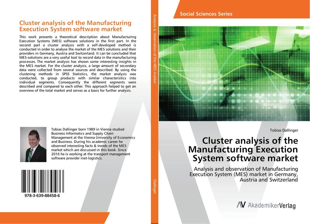 Cluster analysis of the Manufacturing Execution...