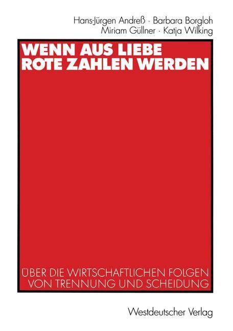 Wenn aus Liebe rote Zahlen werden als Buch