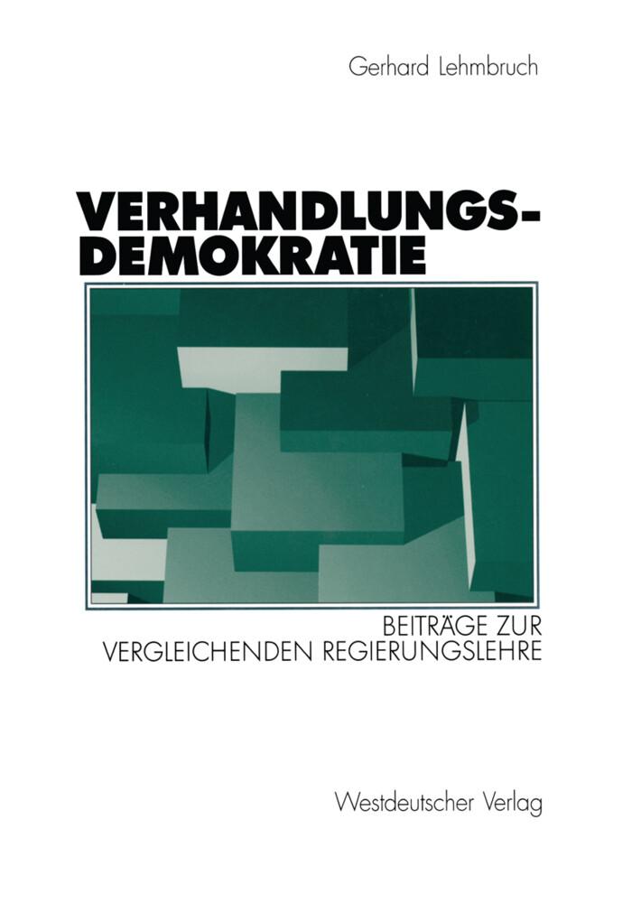 Verhandlungsdemokratie als Buch