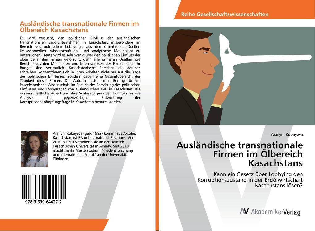 Ausländische transnationale Firmen im Ölbereich...