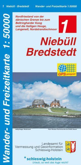 Niebüll - Bredstedt 1 : 50 000 als Buch