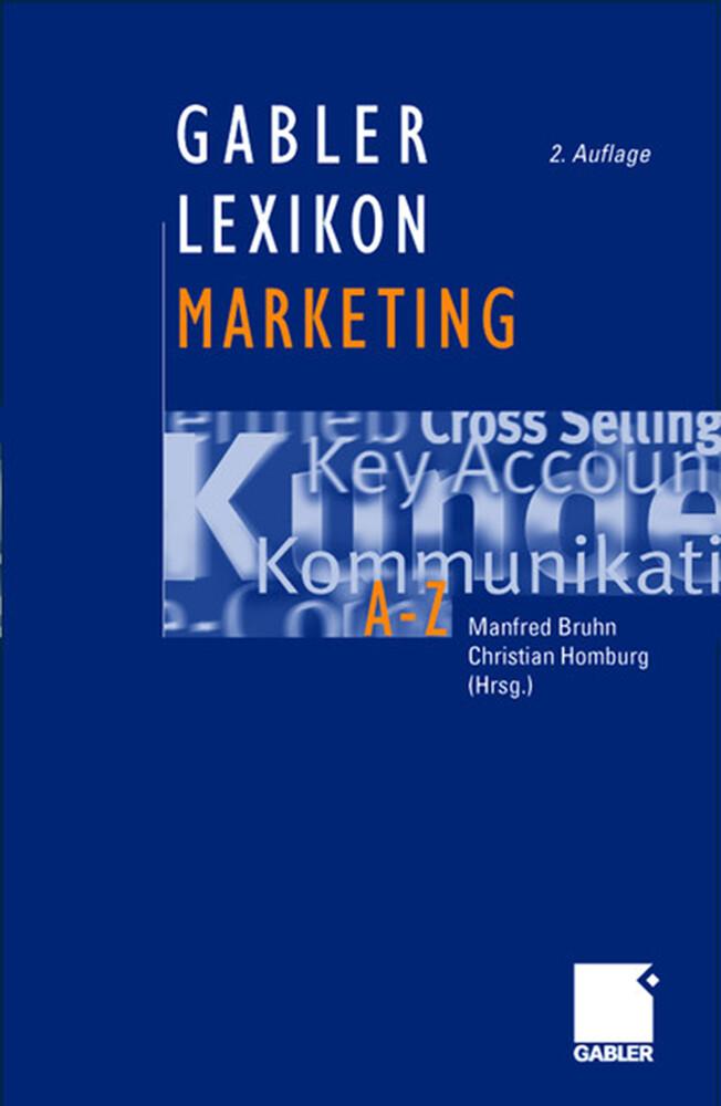Gabler Marketing-Lexikon als Buch (gebunden)