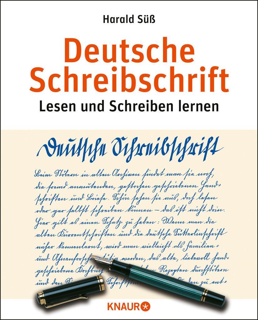 Deutsche Schreibschrift. Übungsbuch als Buch vo...