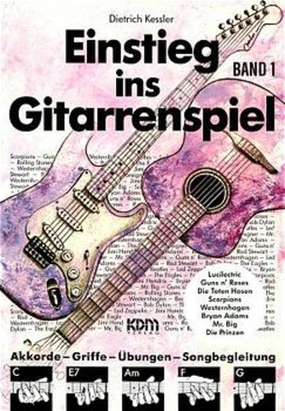 Einstieg ins Gitarrenspiel 1 als Buch