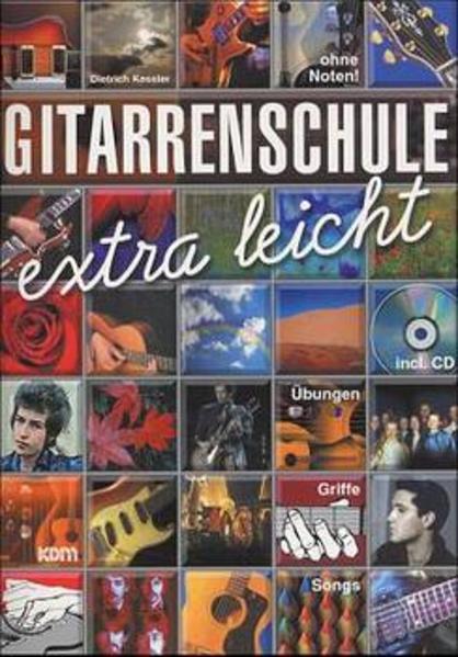 Gitarrenschule extra leicht als Buch
