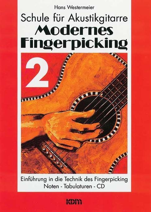 Modernes Fingerpicking 2 als Buch