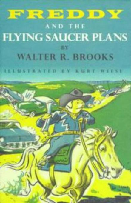 Freddy and the Flying Saucer Plans als Buch