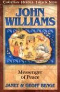 John Williams: Messenger of Peace als Taschenbuch