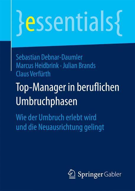 Top-Manager in beruflichen Umbruchphasen als Buch