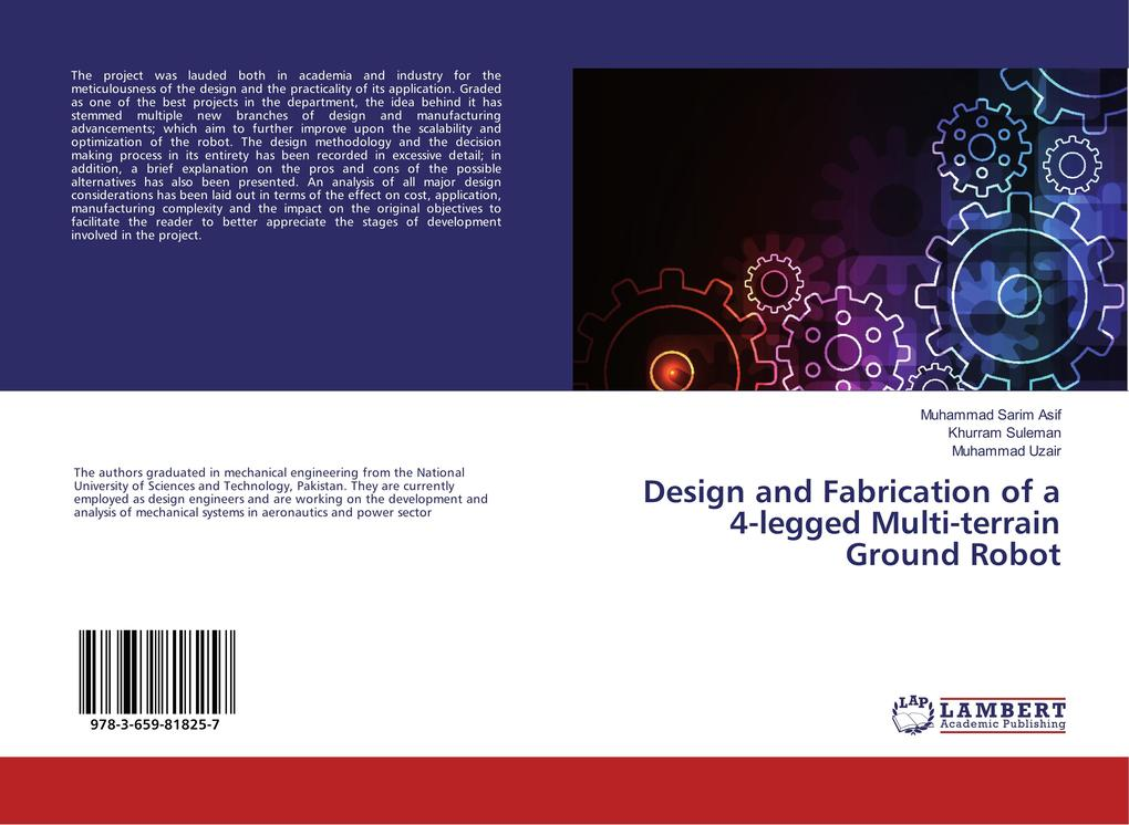 Design and Fabrication of a 4-legged Multi-terr...