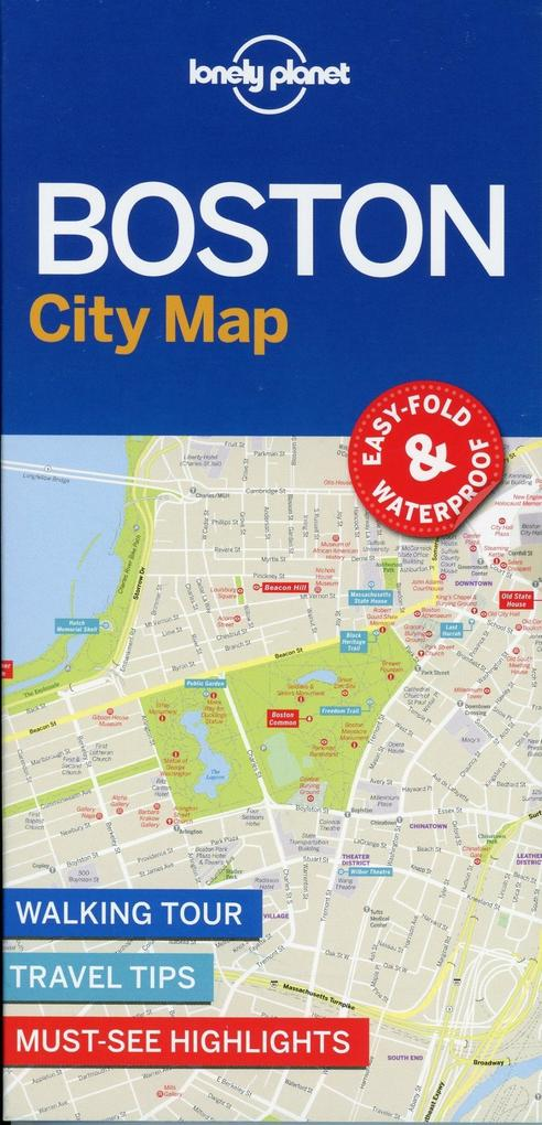 Lonely Planet Boston City Map (Buch), Lonely Planet on
