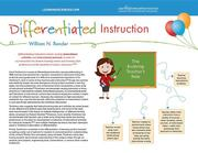 Differentiated Instruction Quick Reference Guide