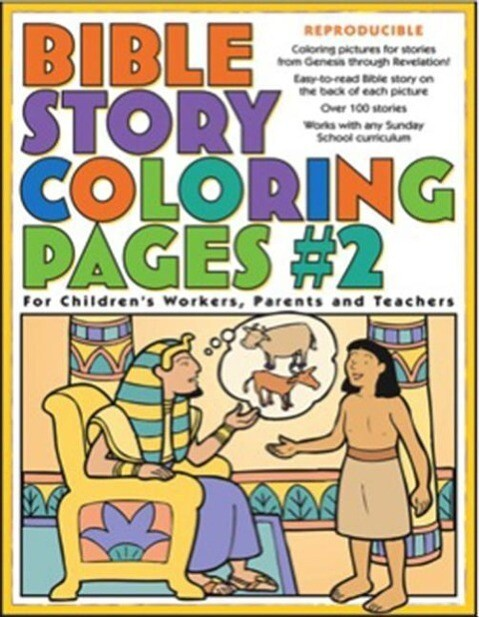 Bible Story Coloring Pages #2 als Taschenbuch