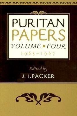 Puritan Papers: 1965-1967 als Taschenbuch