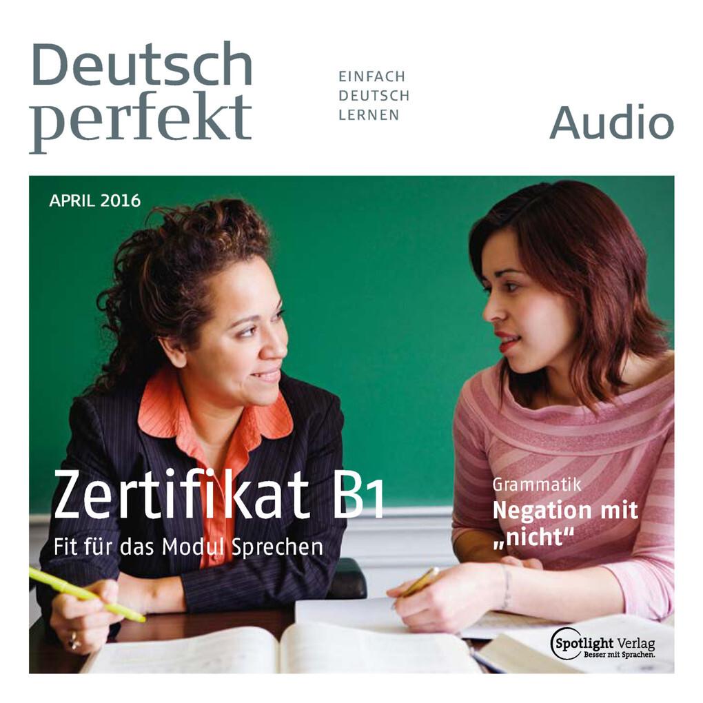 Deutsch Lernen Audio Das Zertifikat B1 Hörbuch Download
