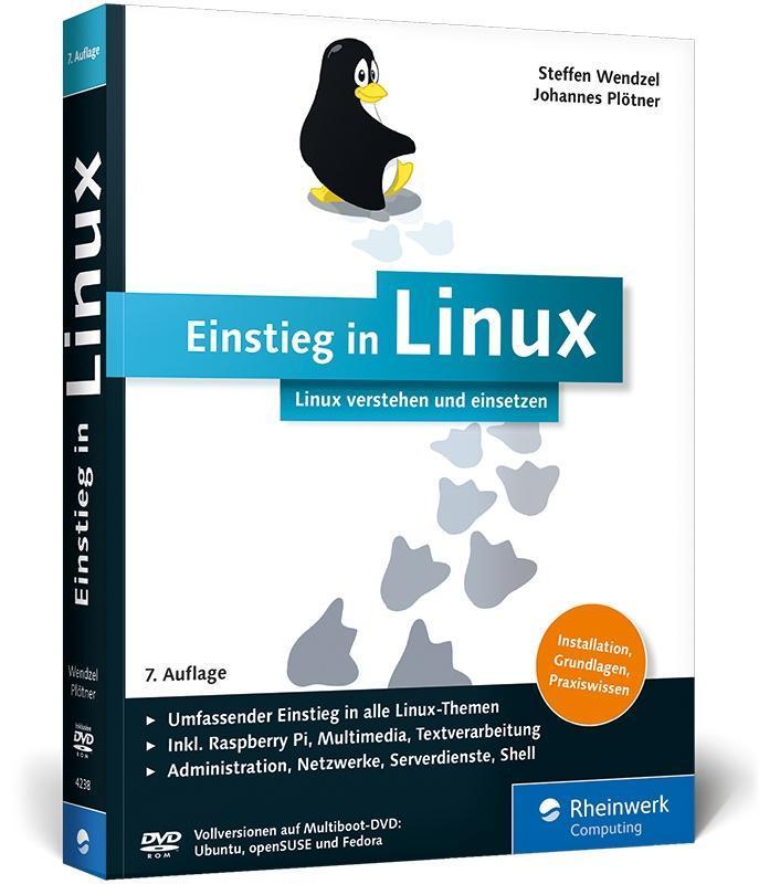 Einstieg in Linux als Buch von Steffen Wendzel,...