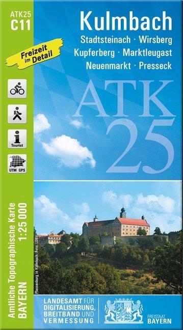 Kulmbach 1 : 25 000 als Buch von