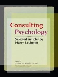 Consulting Psychology als eBook Download von