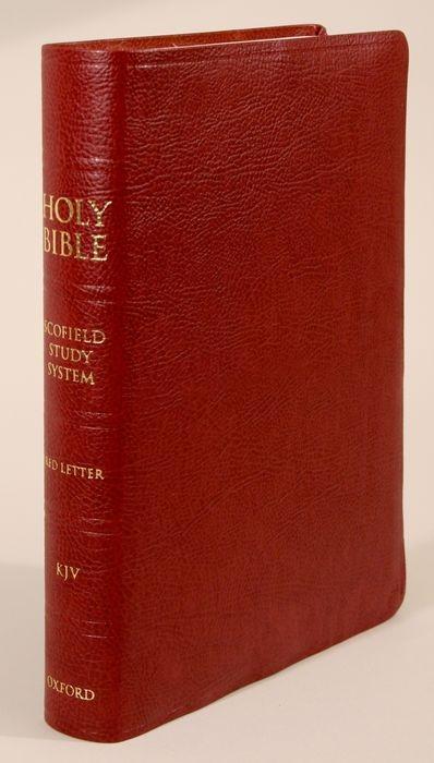 Scofield Study Bible III-KJV als Buch (Ledereinband)