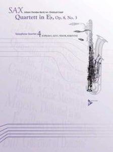 Quartett in Eb als Buch von Johann Christian Bach