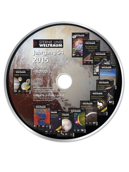 Sterne und Weltraum CD-ROM 2015