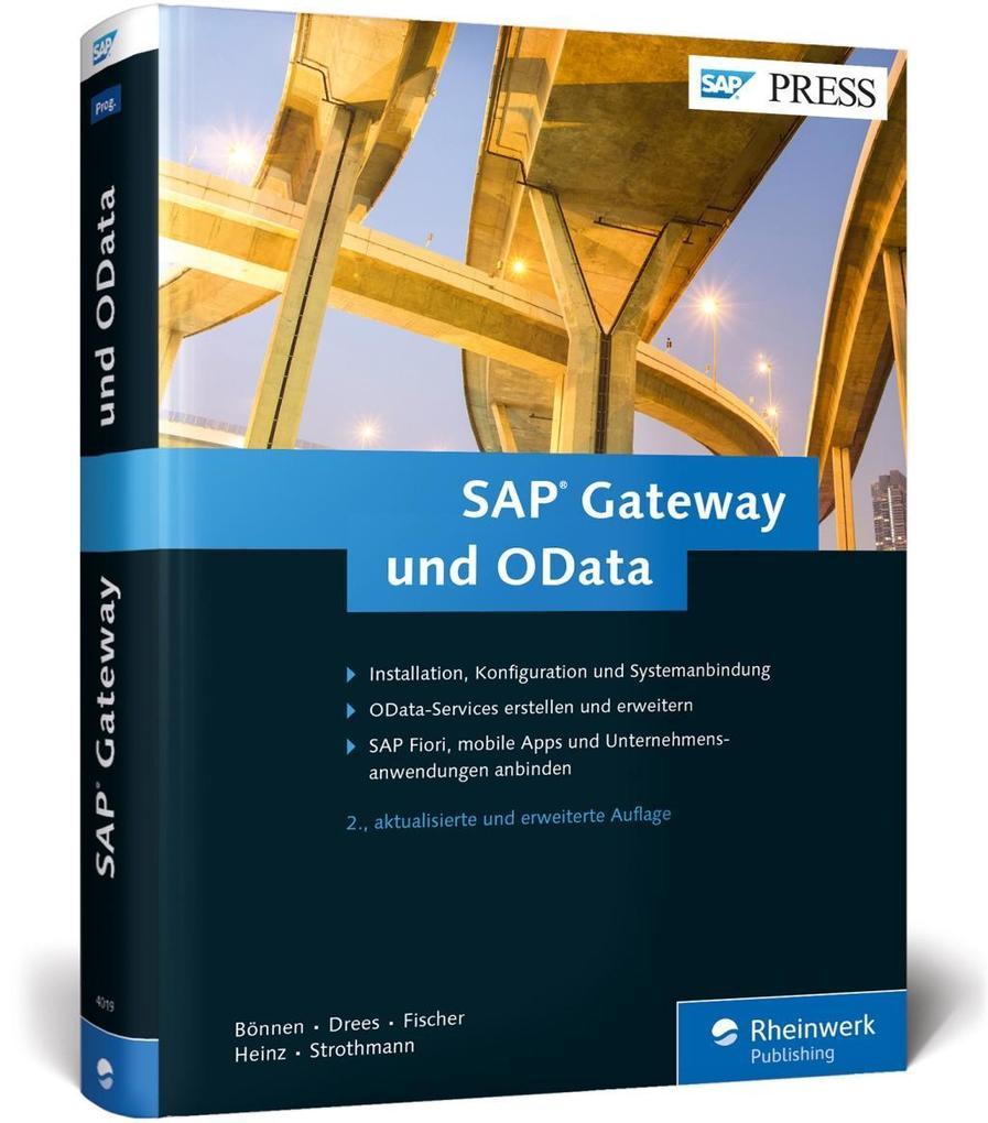 SAP Gateway und OData als Buch von Carsten Bönn...