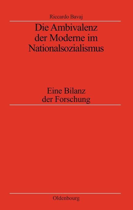 Die Ambivalenz der Moderne im Nationalsozialismus als Buch (kartoniert)