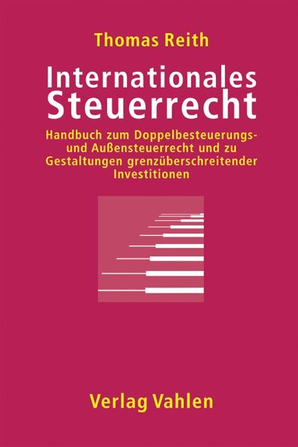Internationales Steuerrecht als Buch