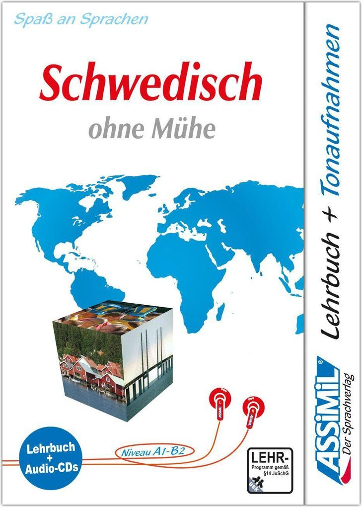 Assimil. Schwedisch ohne Mühe. Multimedia-Classic. Lehrbuch und 4 Audio-CDs als Buch