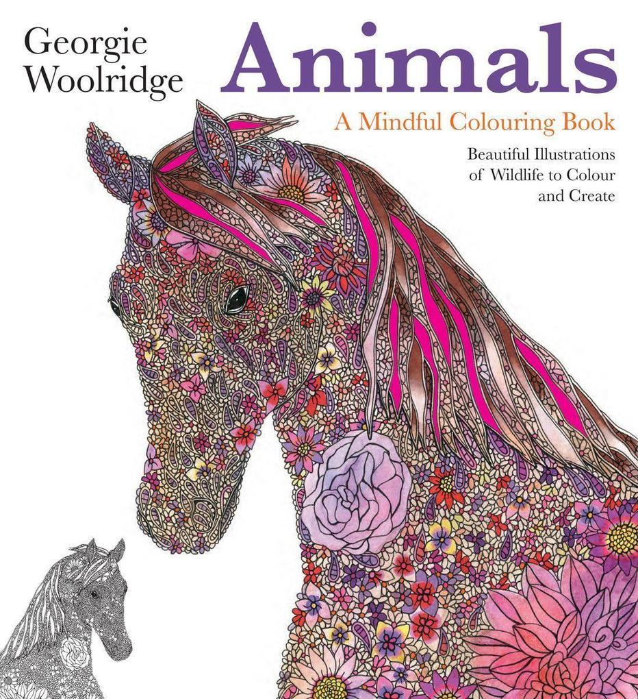 Animals: A Mindful Colouring Book als Taschenbu...