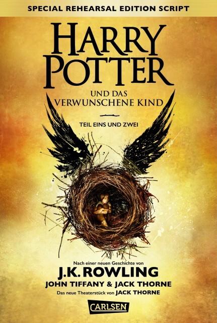 Harry Potter 8 und das verwunschene Kind. Teil eins und zwei (Special Rehearsal Edition) als Buch