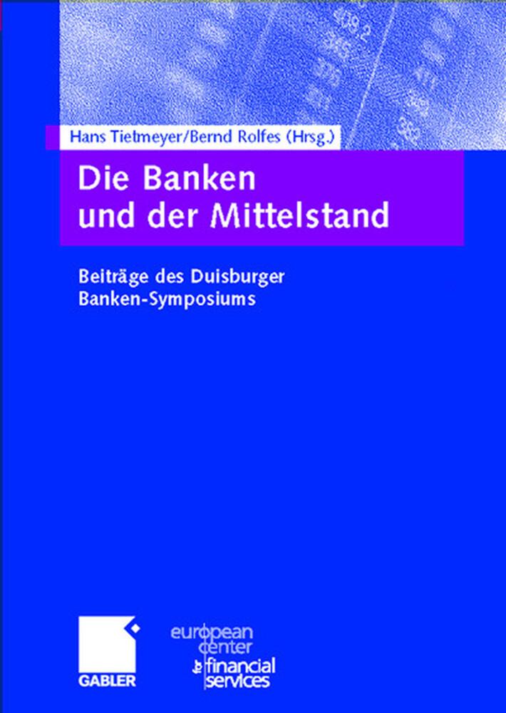 Die Banken und der Mittelstand als Buch