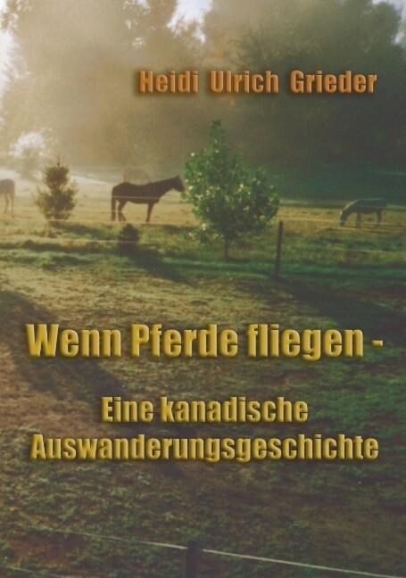 Wenn Pferde fliegen als Buch