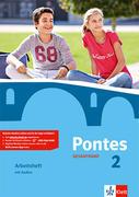 Pontes Gesamtband 2. Arbeitsheft mit Audio-CD