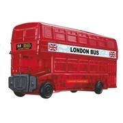 3D Crystal Puzzle - London Bus 53 Teile
