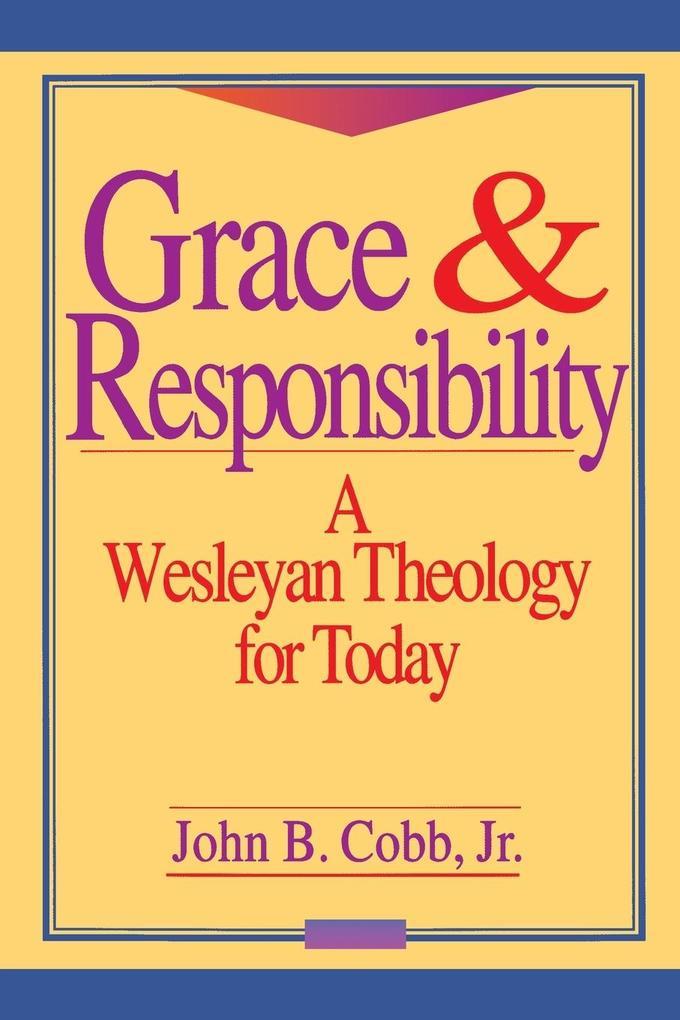 Grace and Responsibility als Taschenbuch
