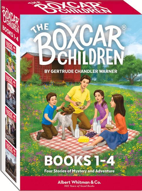 The Boxcar Children Mysteries Boxed Set #1-4 als Taschenbuch
