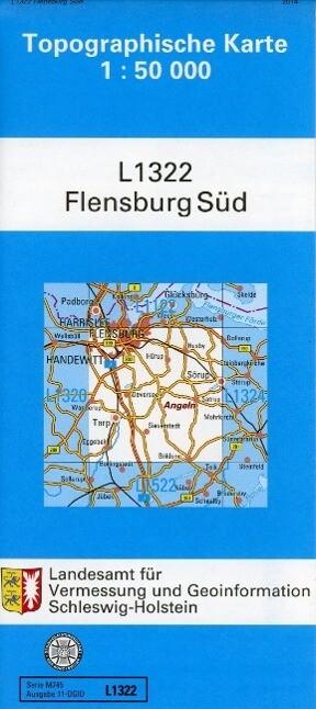 Flensburg Süd 1 : 50 000 als Buch von