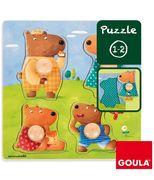 Holzpuzzle Bärenfamilie