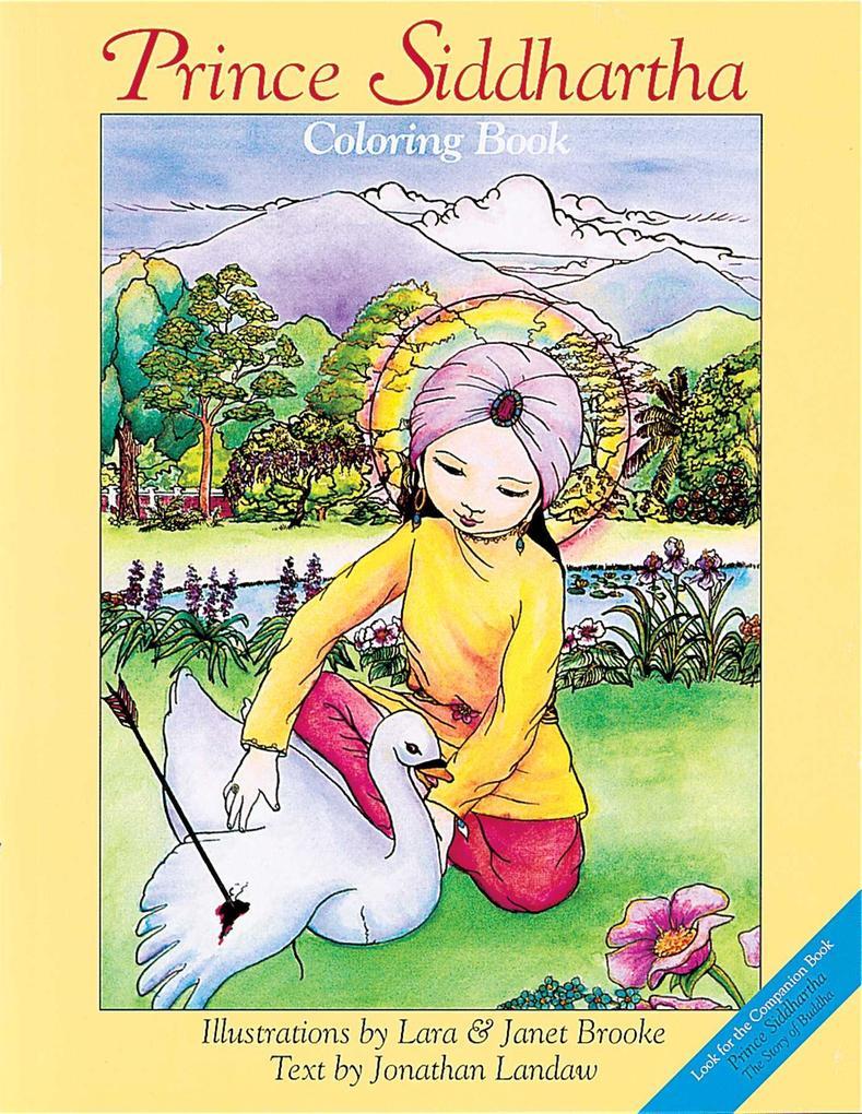 Prince Siddhartha Coloring Book als Taschenbuch